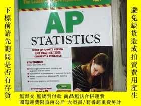 二手書博民逛書店Barron's罕見AP Statistics 8th Edit
