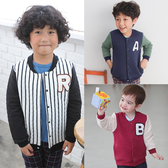 空氣棉棒球外套 兒童 保暖外套 休閒 運動風 男童 女童 保暖 厚外套 寶寶外套 Augelute 61088