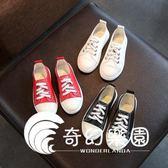 兒童小白鞋新款女童鞋軟底板鞋韓版百搭運動鞋鞋-奇幻樂園