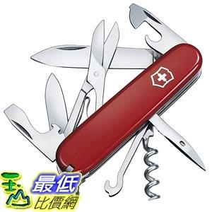 [7美國直購] 瑞士刀 Climber Swiss Army Knife Red Blister Pack B001U5773W
