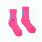 H2O LAB 螢光世代 螢光粉 藍LOGO 中高筒襪 男女 19FW01PK