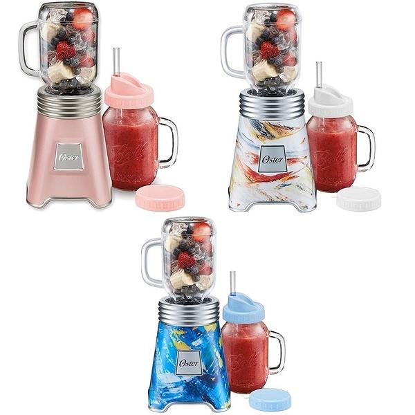 美國 OSTER-Ball Mason Jar隨鮮瓶果汁機 BLSTMM (六色可選)