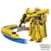 新幹線變形機器人 DXS102 923黃博士 (PLARAIL鐵道王國) 61998