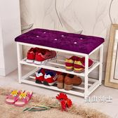 鞋櫃鞋架簡易家用經濟型防塵收納架子多層組裝簡約現代宿舍小鞋櫃 交換禮物