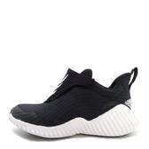 Adidas Fortarun AC K [AH2627] 中童鞋 運動 休閒 舒適 透氣 襪套 魔鬼氈 愛迪達 黑