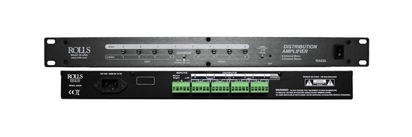【音響世界】美國Rolls RA63b 8音軌 2 in/ 8 out歐式Phoenix接頭訊號分配器(Made in USA) 含稅保固