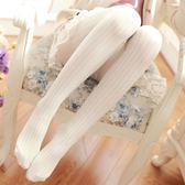 襪子女 連身褲襪 秋冬日系連褲襪 美腿顯瘦天鵝絨細麻花紋螺紋打底襪長筒襪【多多鞋包店】ps1499