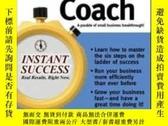 二手書博民逛書店The罕見Business Coach (instant Suc