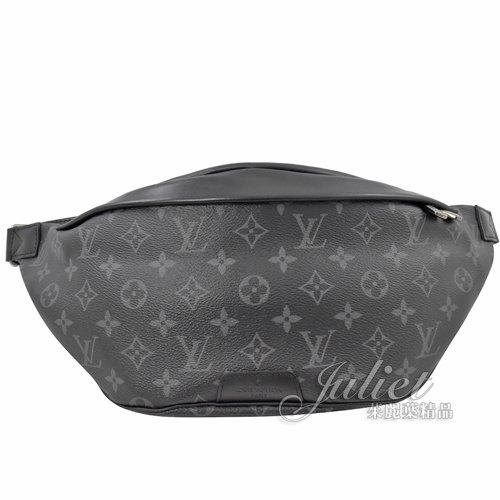 Louis Vuitton LV M44336 Discovery 黑經典花紋腰包/胸口包 全新 現貨 【茱麗葉精品】