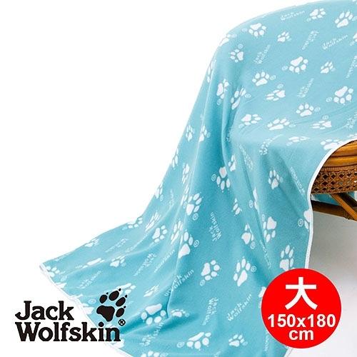 Jack Wolfskin飛狼 四季毯-藍綠(大)