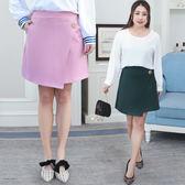 ★韓美姬★中大尺碼~鬆緊腰A字版型半身裙(XL~4XL)