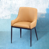 IHouse-妮塔 皮質餐椅(寬47深53高77)