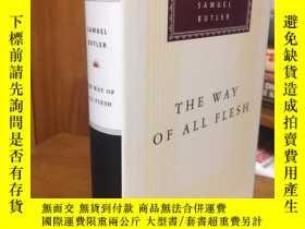 二手書博民逛書店The罕見way of all flesh by Samuel