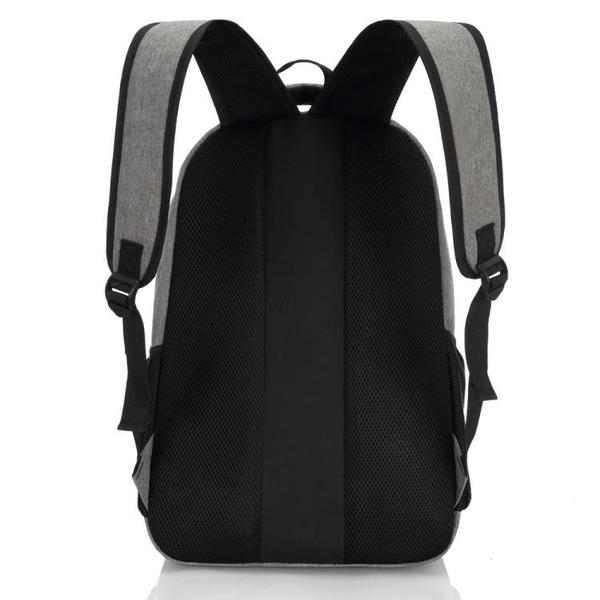 後背包 男士後背包男帆布旅行背包電腦包韓版高中生大學生書包男時尚潮流