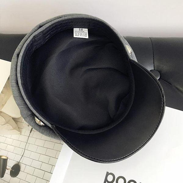 貝雷帽女休閒百搭海軍帽英倫復古【奇趣小屋】