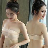 無肩帶防走光裹胸式文上托女內衣-蘇迪奈