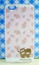【震撼精品百貨】Little Twin Stars KiKi&LaLa 雙子星小天使~iPhone5手機殼-雙子星玫瑰