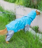 大狗狗雨衣四腳防水泰迪衣服金毛拉布拉多寵物中型大型犬全包夏季 易貨居