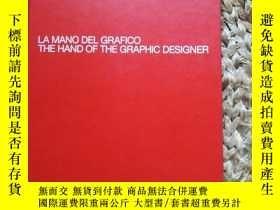 二手書博民逛書店Moleskine罕見圖像設計師手冊 THE HAND OF THE GRAPHIC DESIGNER(大16開