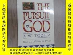 二手書博民逛書店英文書:THE罕見PURSUIT OF GOD TOZER 共121頁 32開 詳見圖片Y15969