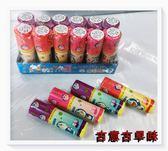 古意古早味 口紅糖(多拉A夢/12支/盒)懷舊零食 糖果 Hello kitty 葡萄 櫻桃 草莓