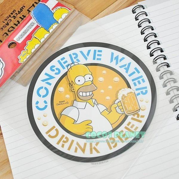 正版 辛普森 啤酒荷馬 河馬 壁貼 防水貼 行李箱貼 安全帽汽機車貼紙 裝飾貼 COCOS FT03