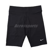 Nike 緊身褲 NSW Bike Shorts 黑 女款 馬褲 內搭褲 單車褲 運動褲【ACS】 CZ8527-010
