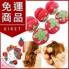 DIY造型神奇超柔軟12入軟式海綿草莓捲髮器睡眠髮捲球