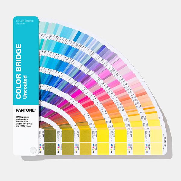PANTONE 色票 色彩橋樑-膠版紙【Color Bridge Guide | Uncoated】新增294色 GG6104A / 本【2019 最新版】