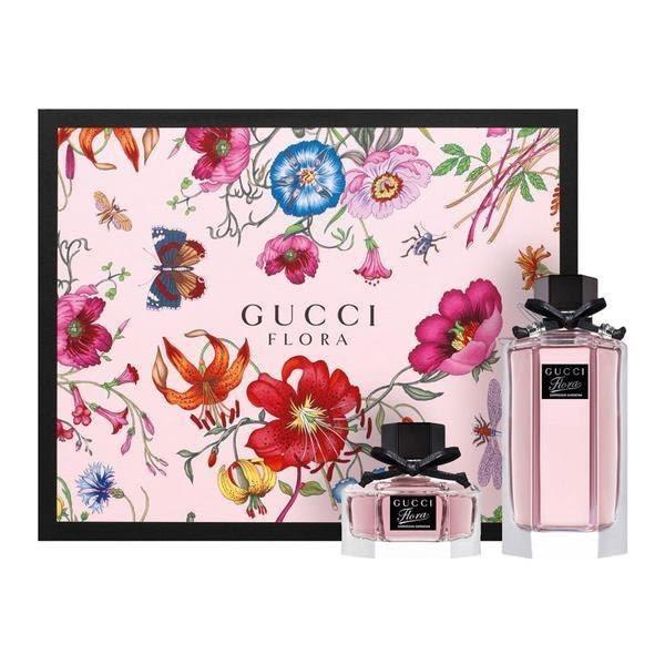 GUCCI Gorgeous Gardenia 花園香氛系列 華麗梔子花女性淡香水100ml+30ml禮盒
