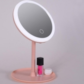 化妝鏡 網紅化妝鏡帶燈桌面臺式梳妝鏡宿舍充電式補光鏡子女生美妝【快速出貨八折搶購】