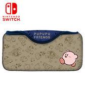 【NS Switch】任天堂 周邊 快速收納包《星之卡比朋友款》(CQP-005-4)