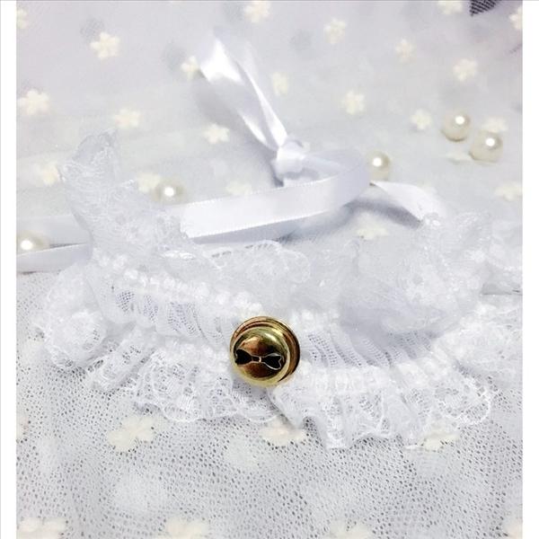天使衣裳 8333 唯美蕾絲鈴鐺項圈 頸環 情趣內衣配飾 情趣內衣 COSPLAY 角色扮演 飾品