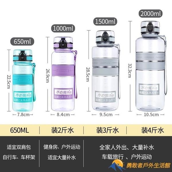 運動水杯男大容量健身水壺戶外大號杯子便攜超大水瓶