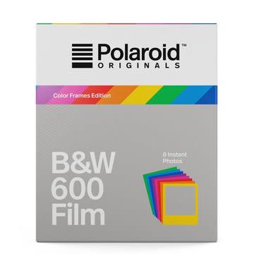 【過期品】Polaroid B&W Film for 600 Color Frames 黑白底片(彩框4673)/2盒