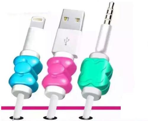 【Love Shop】iphone6 plus/iphone4/5/6 蝴蝶結傳輸線保護套 I線套 線保護套 電源線套手機套