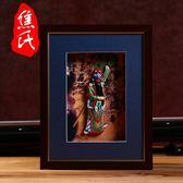 京劇臉譜擺件中國風禮品送老外純手工藝品