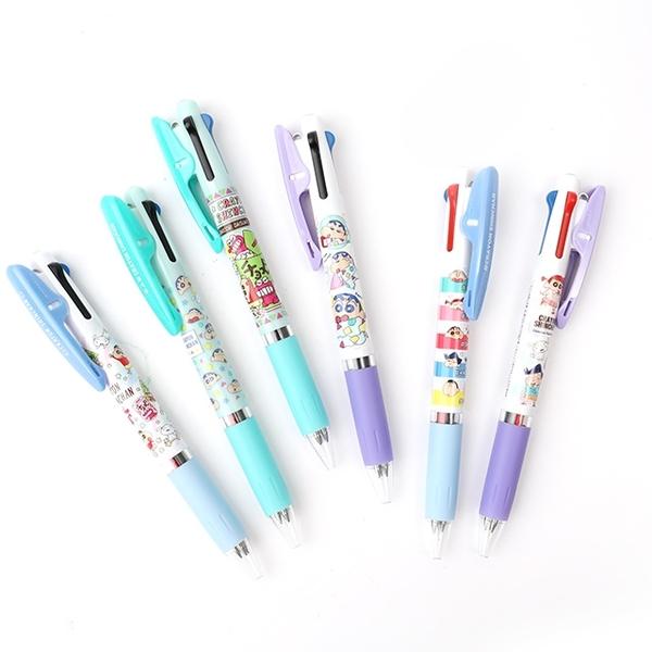 日貨Uni Jetstream三色溜溜筆 蠟筆小新系列- Norns 日本文具三色原子筆