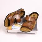 涼鞋 2021青年越南開車父親45男拖鞋涼鞋夏休閒兩用男防滑沙灘鞋潮【快速出貨八折鉅惠】