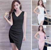 2017新款女裝性感氣質顯瘦無袖露背禮服SJ653『時尚玩家』