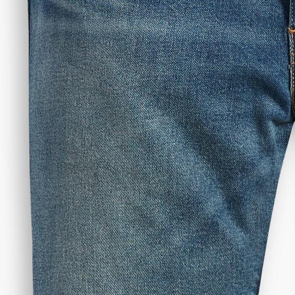 Levis 男款 514低腰合身直筒牛仔褲 / 刷黃洗舊工藝 / 彈性布料