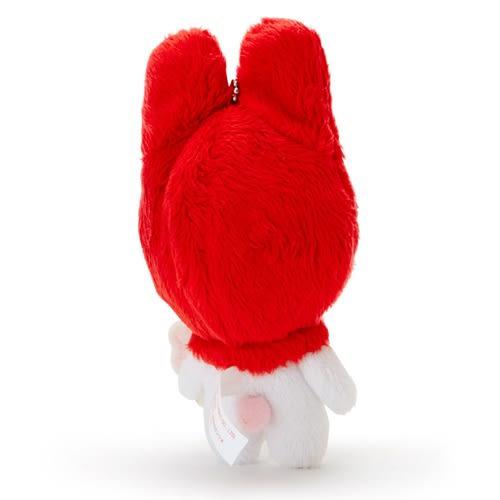 Sanrio 美樂蒂*夢奇奇MONCHHICHI系列第二彈-玩偶吊鍊(紅)★funbox★_007561