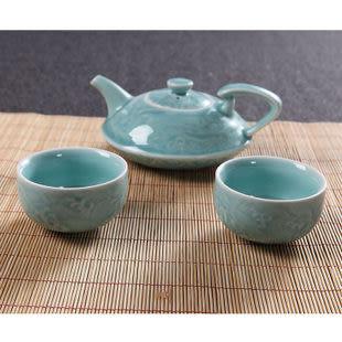 龍泉青瓷茶具套裝