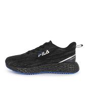 FILA RIPPLE [1-J950V-008] 男 慢跑鞋 運動 休閒 透氣 輕量 飛織布 黑 藍