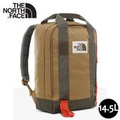【The North Face 14.5L 背提包《卡其》】3KYY/休閒背包/多功能後背包/電腦背包/洽公/登山