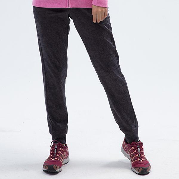 PolarStar 女 運動保暖褲『炭灰』 P18402 台灣製造 休閒 登山 露營 瑜珈 慢跑 居家 運動褲