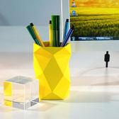 創意時尚筆筒 文具辦公用品 硅膠收納筆筒 簡潔設計 晴天時尚館