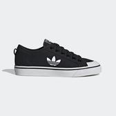 Adidas Nizza Trefoil W [EF1878] 女鞋 運動 休閒 籃球 輕量 街頭 穿搭 愛迪達 黑 白