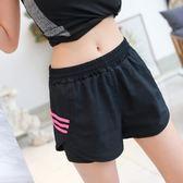 運動短褲女假兩件速干寬松防走光跑步訓練瑜伽健身三分褲透氣