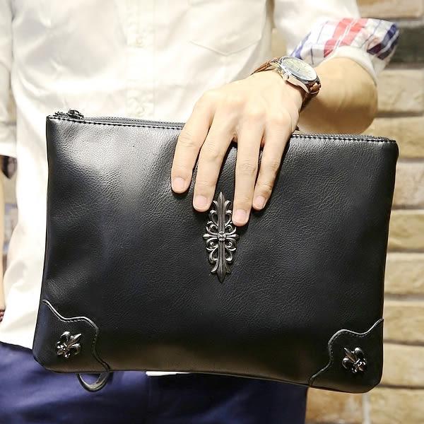 韓版手拿包 男零錢手機小包【非凡上品】x383